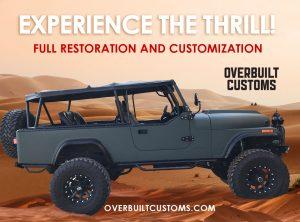 Overbuilt customs custom Jeeps